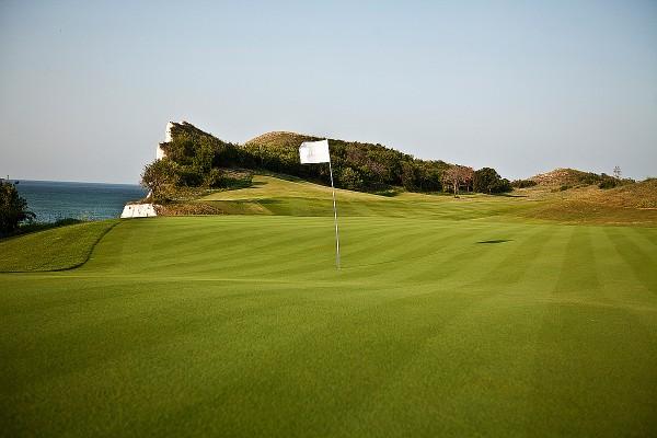 Поле для гольфа в Болгарии
