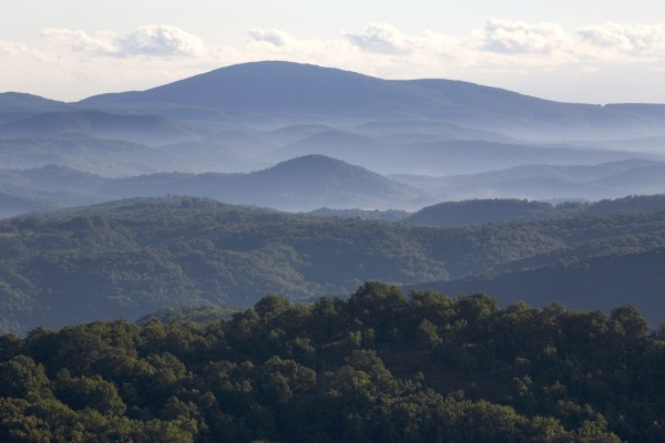 Горы Странджа